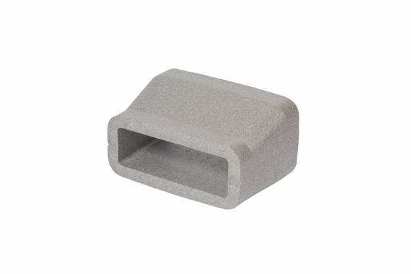 Insulated rectangular reducer