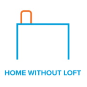 PIV - Homes without loft space image